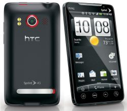 Usuń simlocka kodem z telefonu HTC EVO 4G