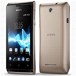 Usuń simlocka kodem z telefonu Sony Xperia E