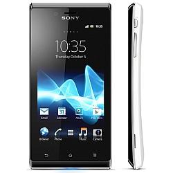 Usuń simlocka kodem z telefonu Sony ST26i